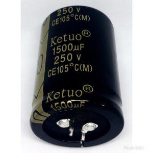 CAPACITOR ELETROLÍTICO * 1.500uf x 250V