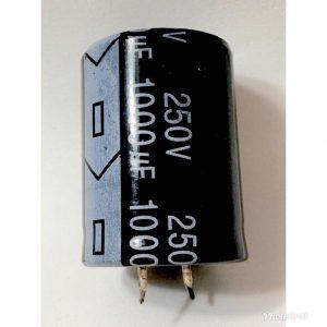 CAPACITOR ELETROLÍTICO * 1.000uf x 250V