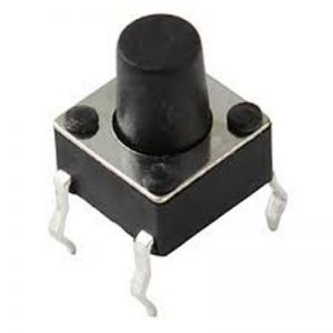 CHAVE TACTIL * 6 X 6 X 7MM