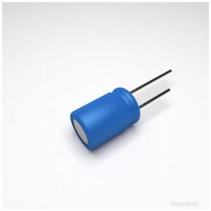 CAPACITOR ELETROLÍTICO * 100uf x 100V * NP