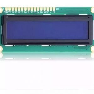 DISPLAY LCD 16X2 C/ BACKLIGHT AZUL