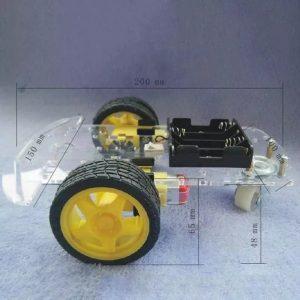 KIT CHASSI ROBO 2WD PARA ARDUINO
