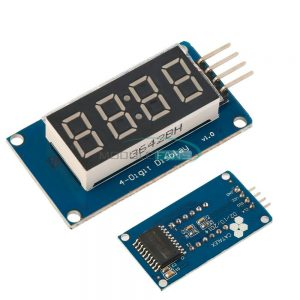 DISPLAY 7 SEGMENTOS COM 04 DIGITOS – TM1637