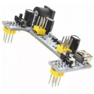 MÓDULO POWER BREADBOARD DE ALIMENTAÇÃO – MB102 3,3V/5V